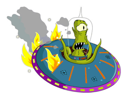 Simpsons transparent alien. Thoh the tapped out