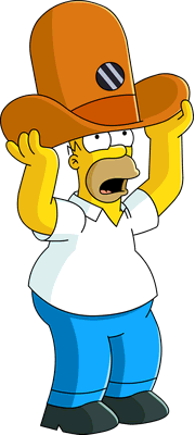 Simpsons transparent camera. Image hat homer unlock