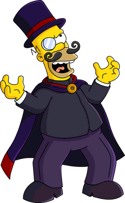 Evil person png. Image homer unlock the