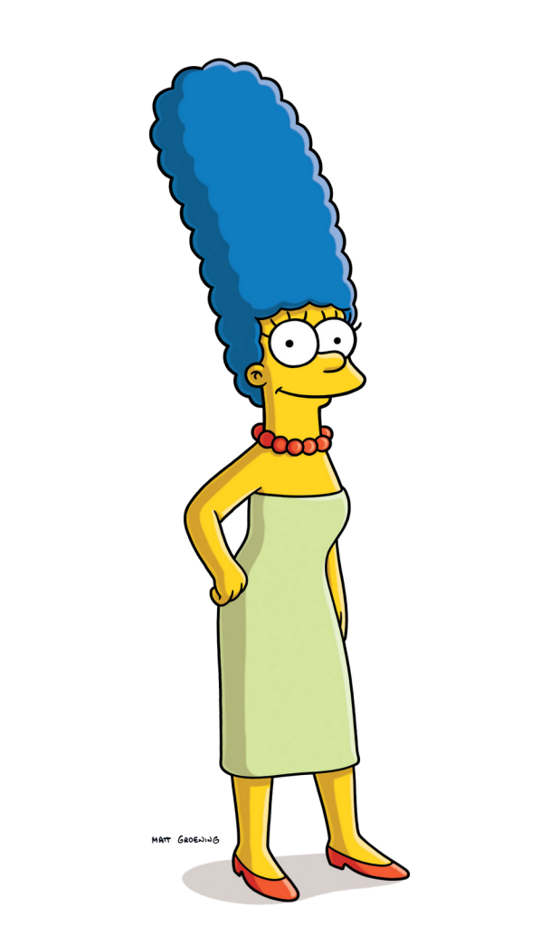 Simpsons transparent neon. The image peoplepng com