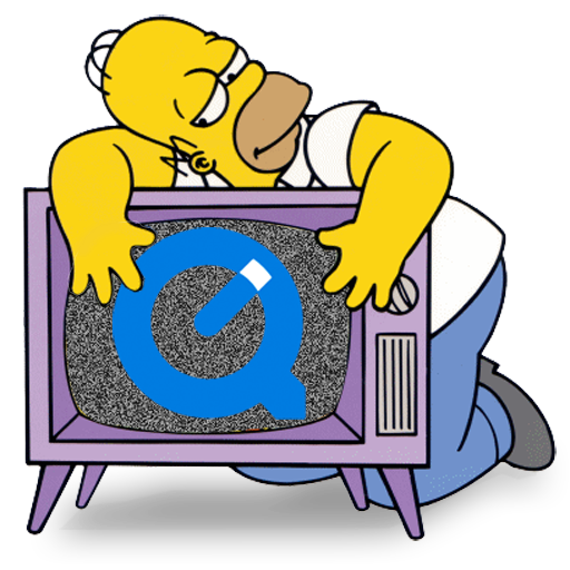 Simpsons tv png. Quicktime icon free download