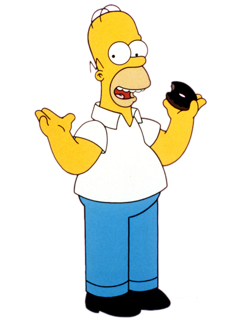simpsons transparent jay