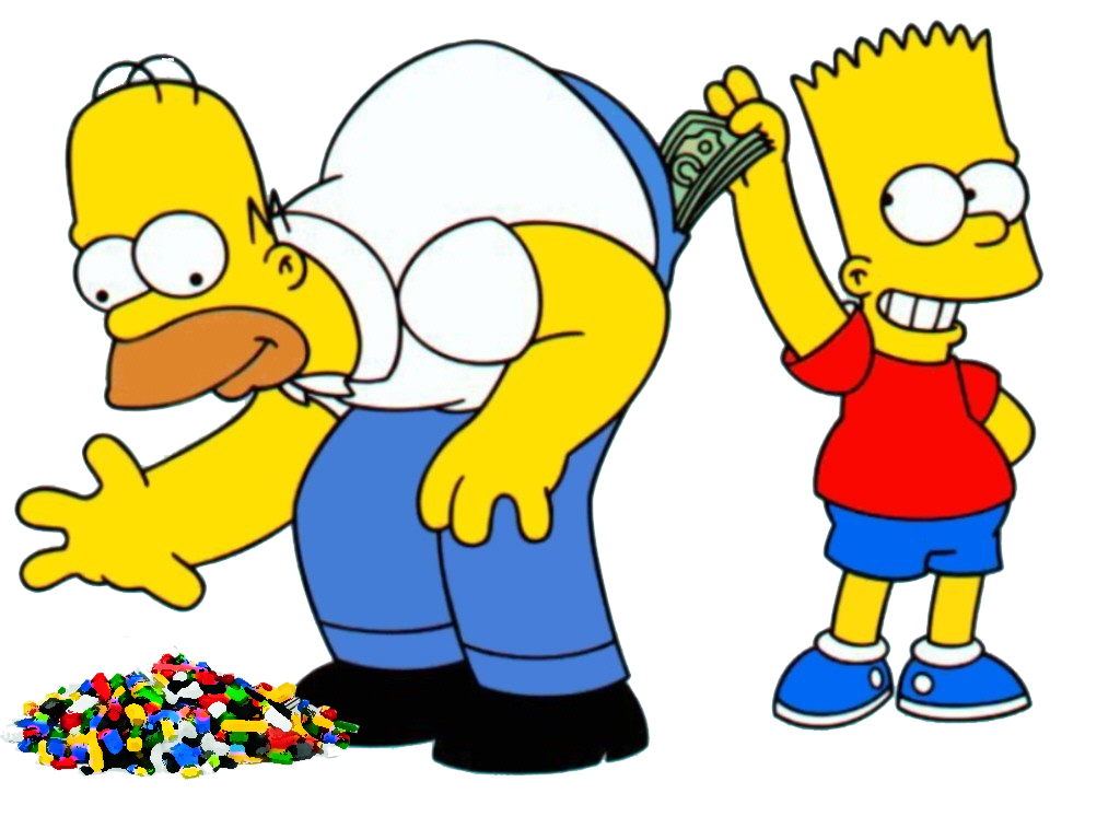 Simpsons tv png. Lego show announced fbtb