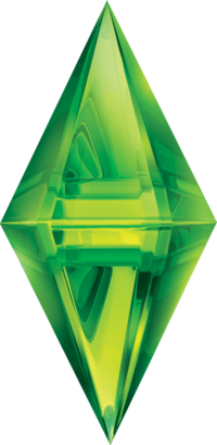 Sims 3 logo png. Evolution of the plumbob