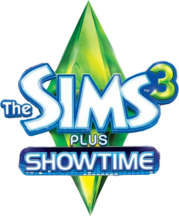 Sims 3 logo png. Image the plus showtime