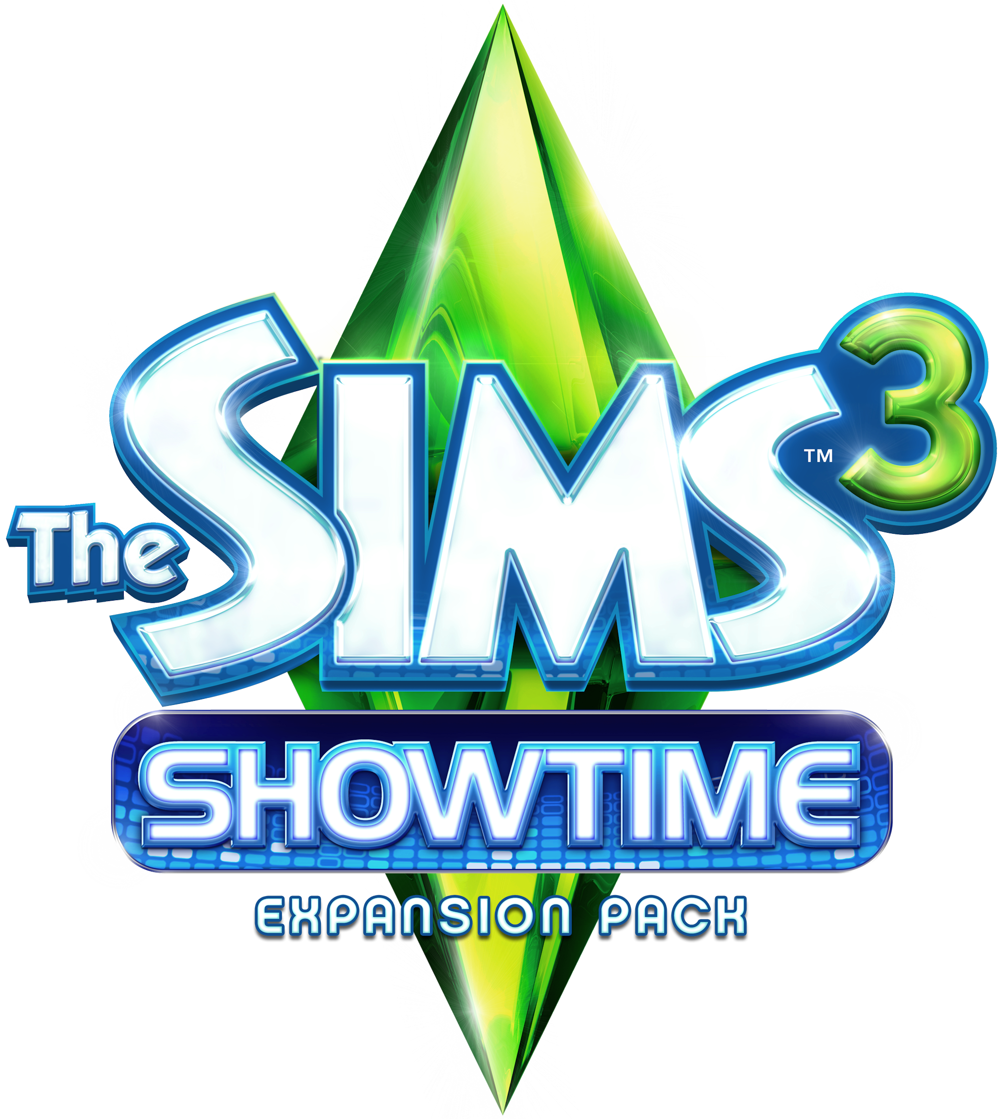 Sims 3 logo png. Image the showtime logopedia