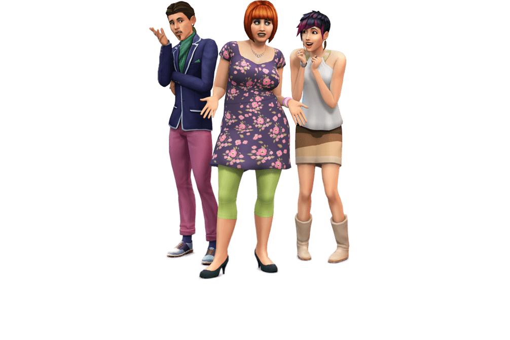 Sims 3 png. The friends transparent stickpng