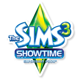 Sims 3 png. Image the showtime logo