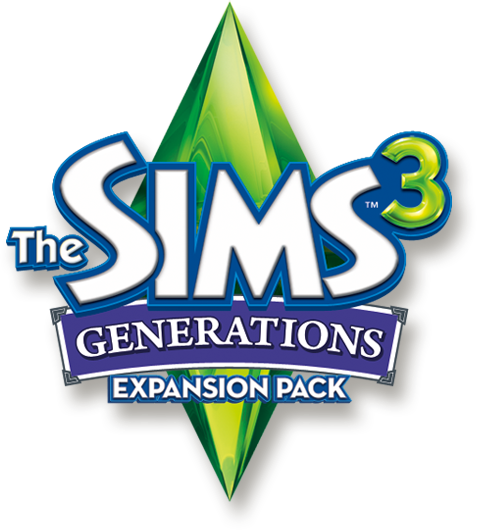 Sims 3 png. Image the generations logopedia