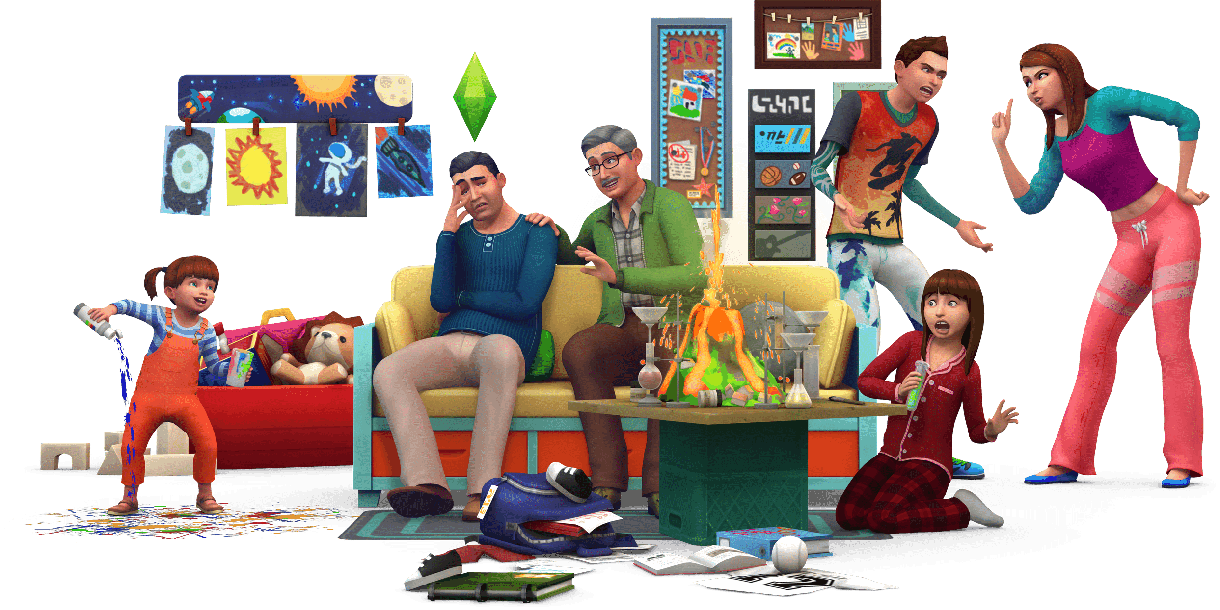 sims 4 cheerful trait png