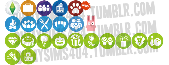 Sims 4 icons png. Oh my nifty for