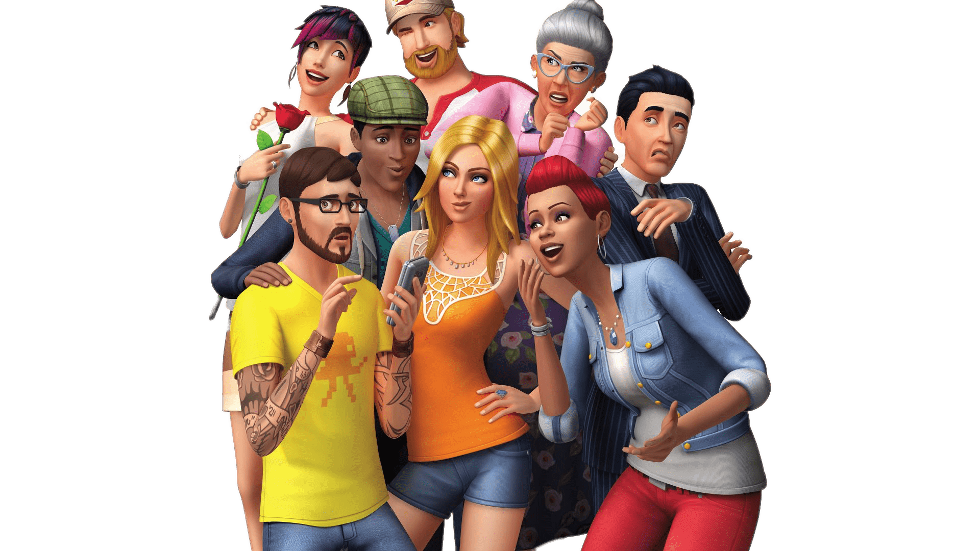 Character transparent sims. The png stickpng games