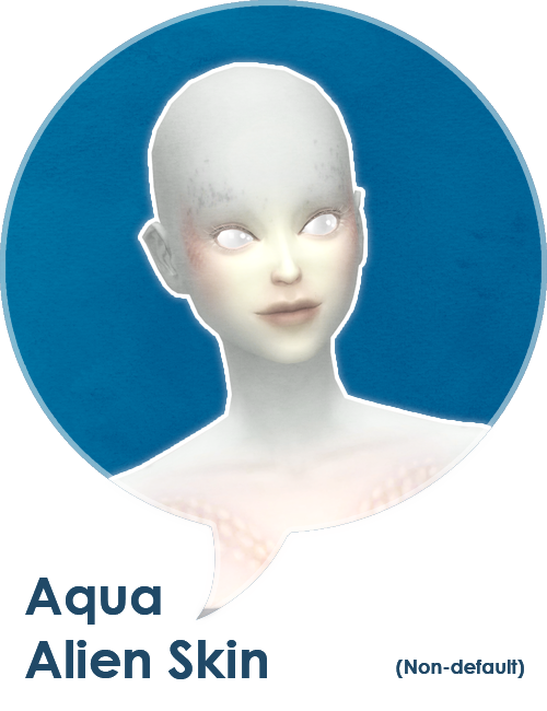 Sims 4 skin png. A new alien skintone