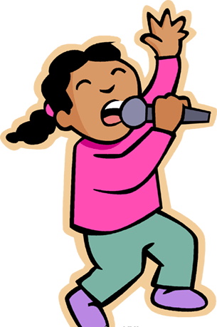 Sing clipart. For free download and