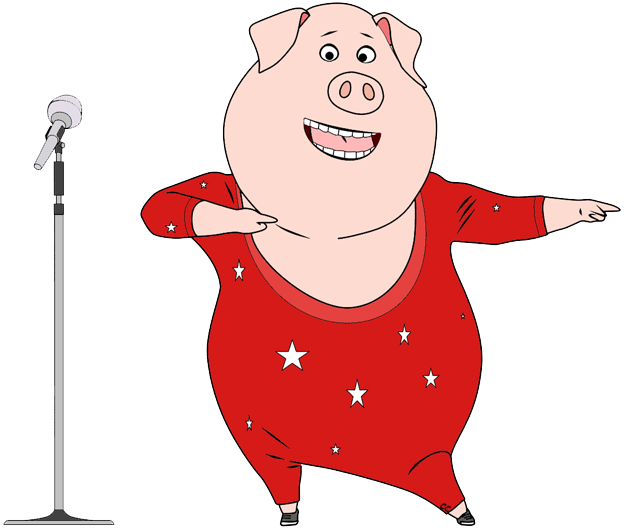 Singer clipart mike clipart. Sing movie clip art