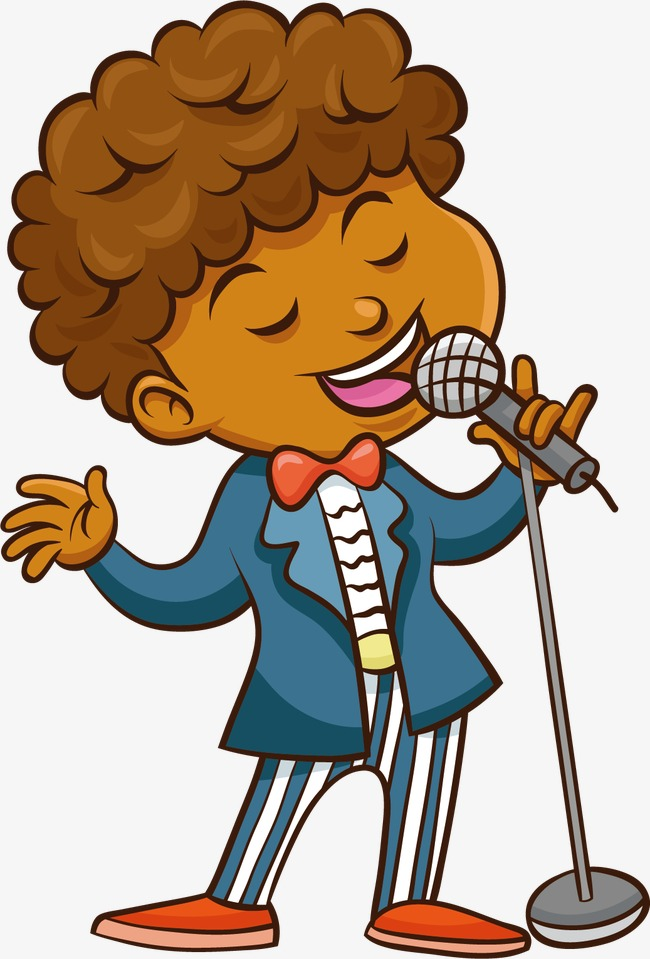 Sing clipart. People child performance concerts