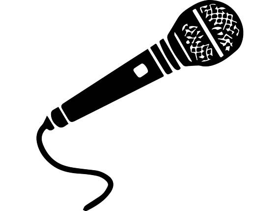 Sing clipart microphone stand. Singer audio voice karaoke