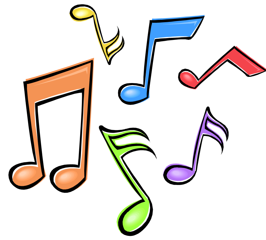 Sing clipart at getdrawings. Music notes colorful png clipart library download