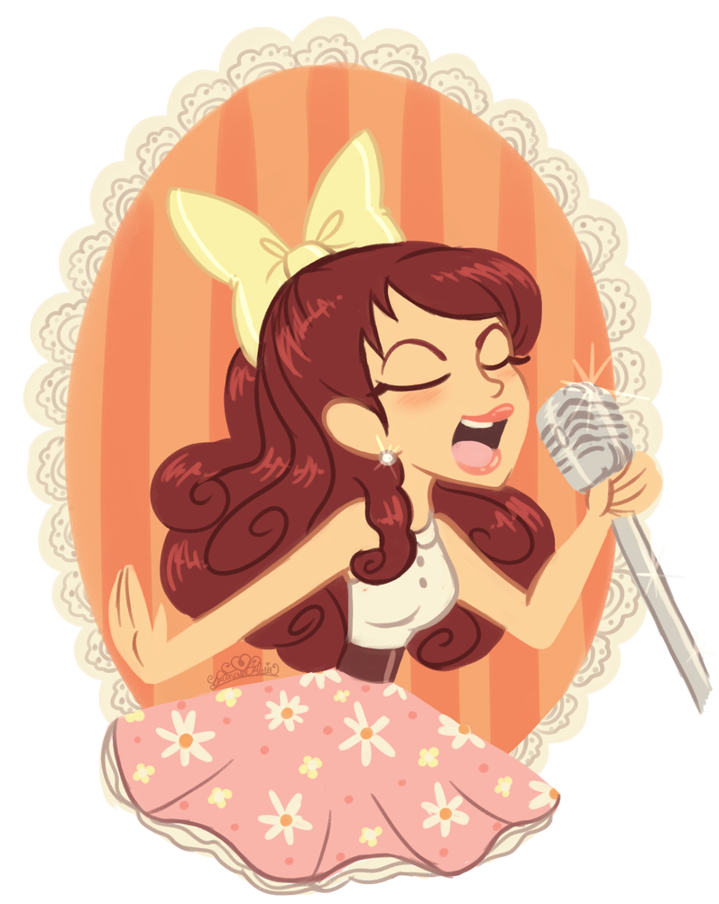 Sing drawing ariana grande. Yours truly by princesscallyie