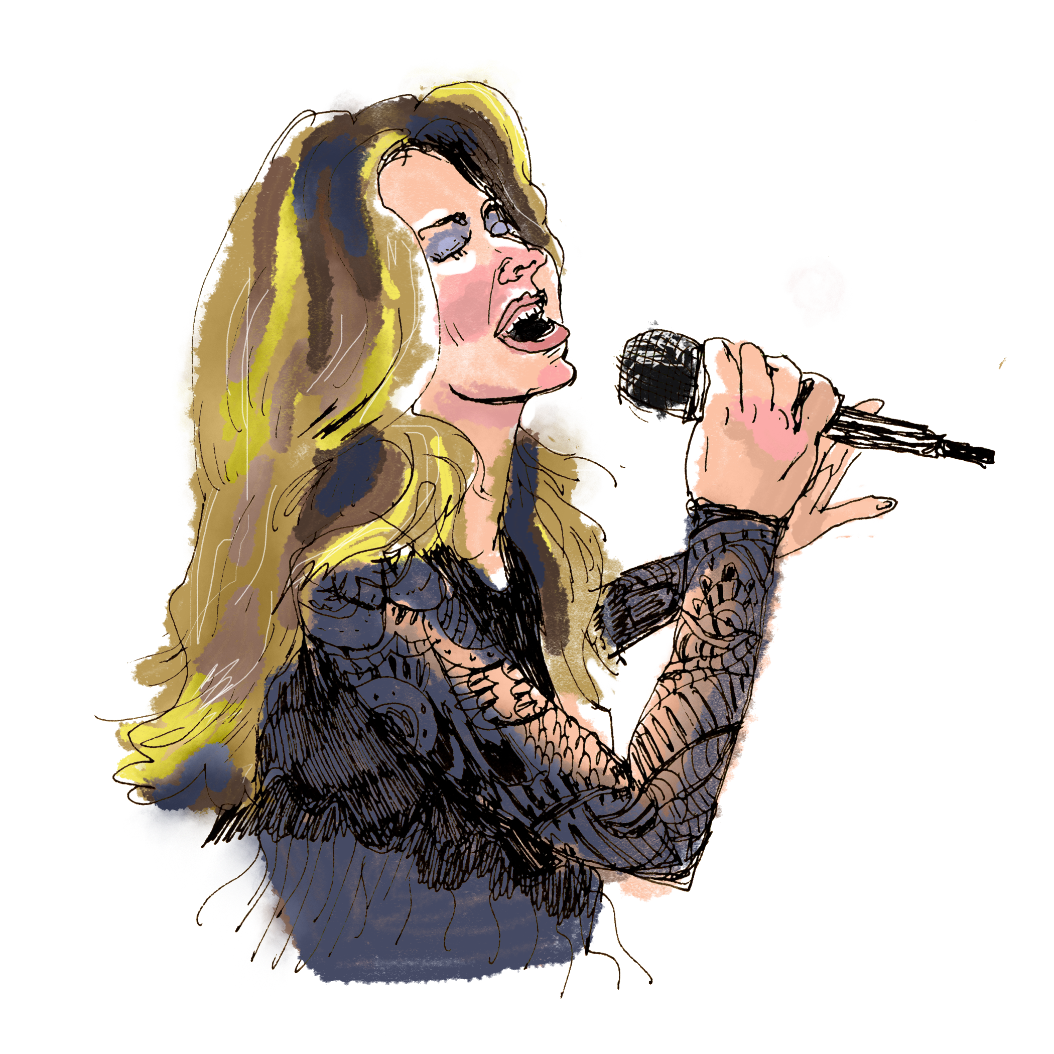 Sing drawing beyonce. Shania twain then and