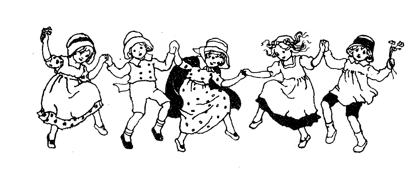 Sing drawing dancing. Children singing transparent