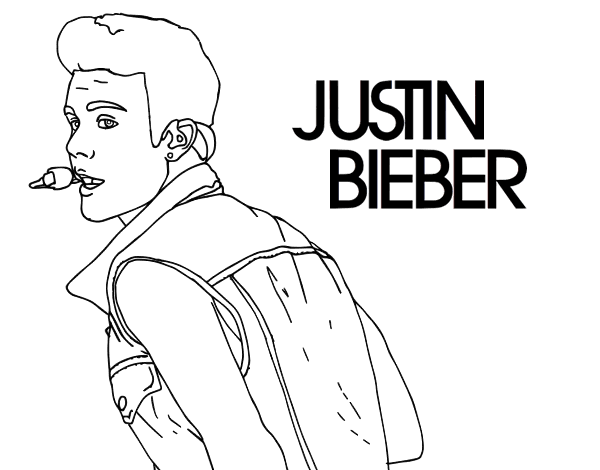 Cute justin bieber coloring pages - Hellokids.com | 470x600