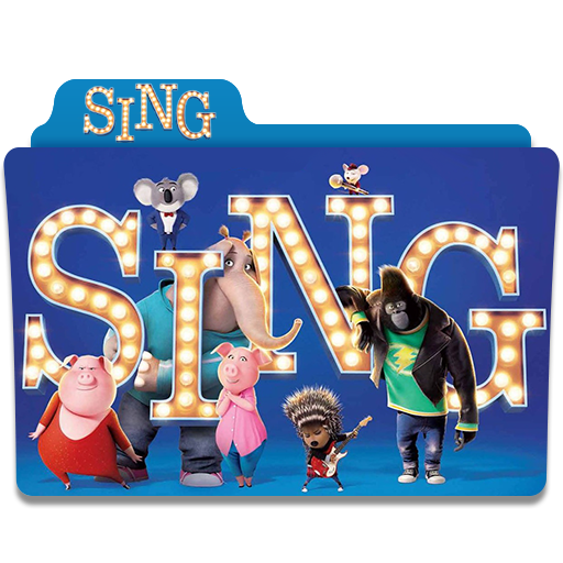 Sing movie png. Folder by mohamed on