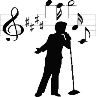 Singer clipart rock singer. Career by wall on