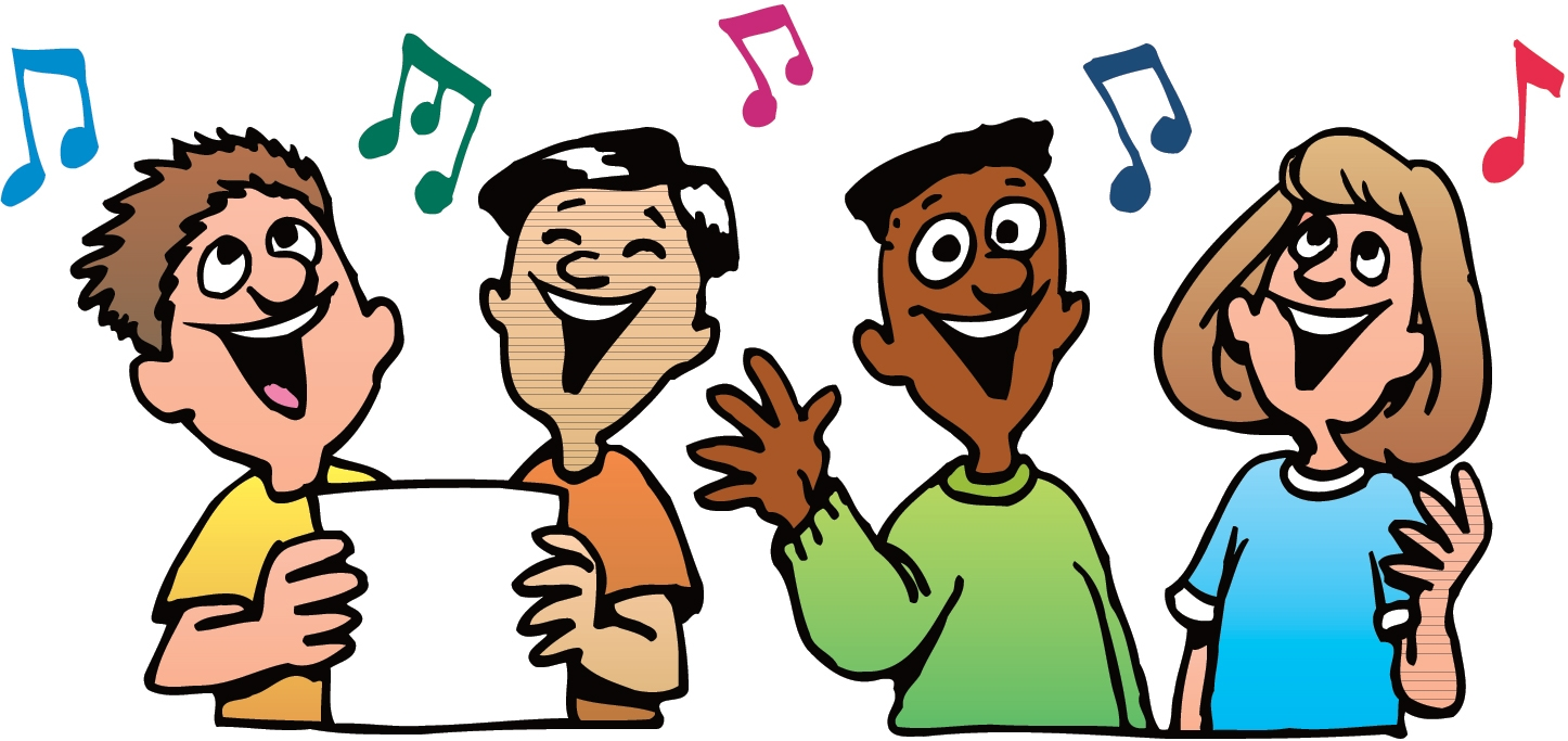 Singing clipart. Best of collection digital