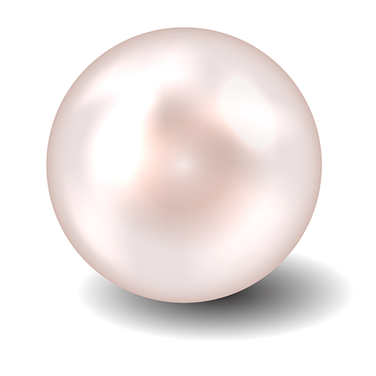 transparent pearls loose