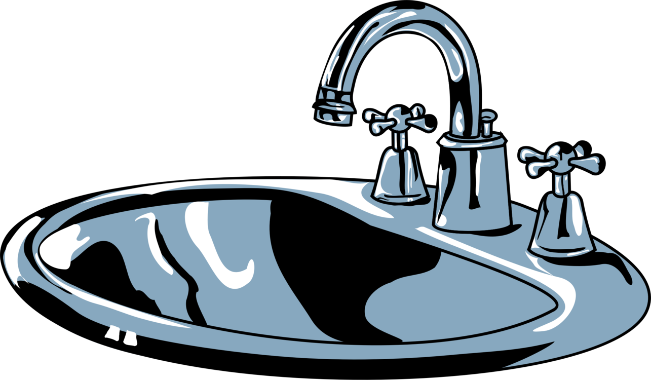 Faucet clipart bathtub faucet. Kitchen sink tap bathroom