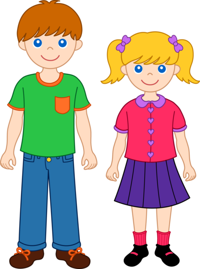 Sister clipart. Brother and