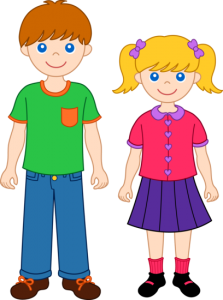 Brother clipart animated. Sister clip art and