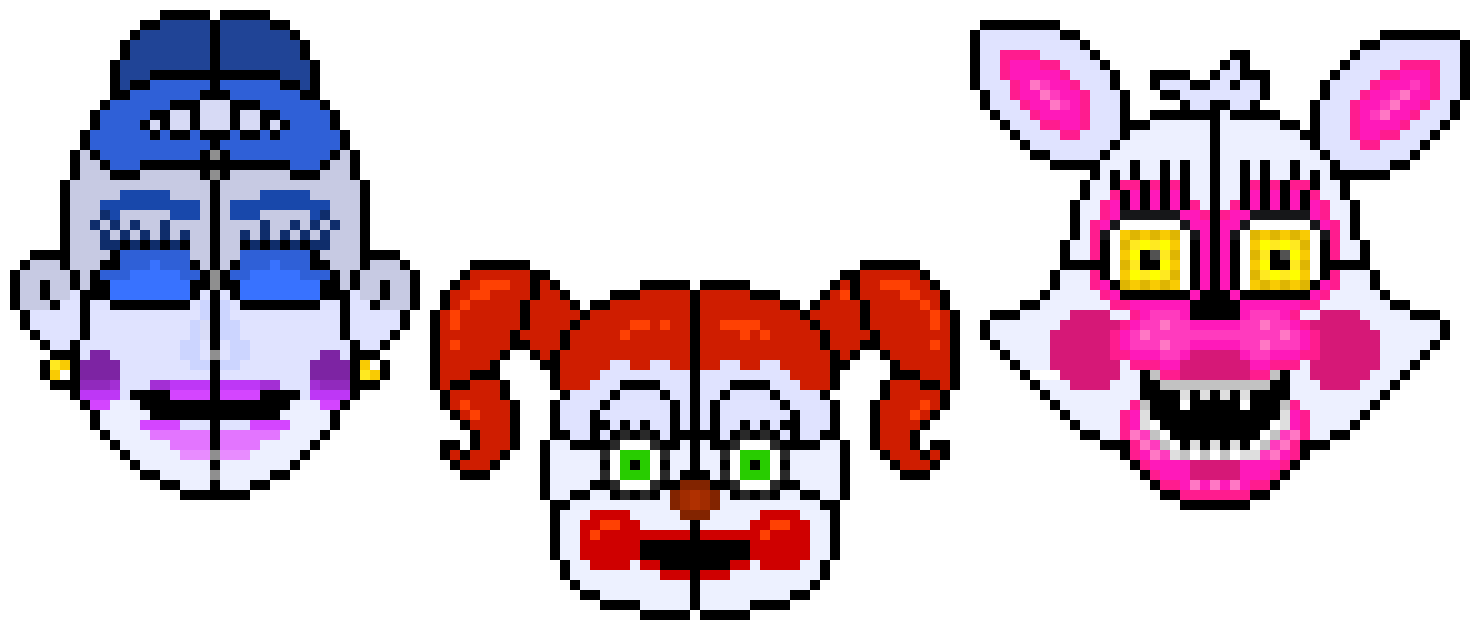 Sister location baby png. Fnaf ballora funtime foxy