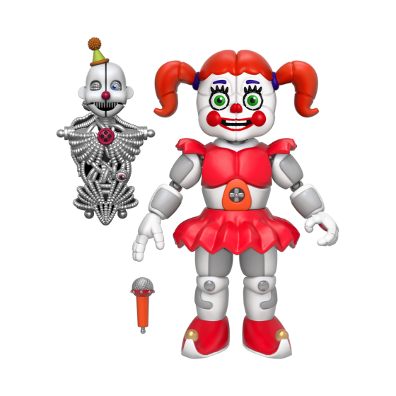 Sister location baby png. Action figure five nights