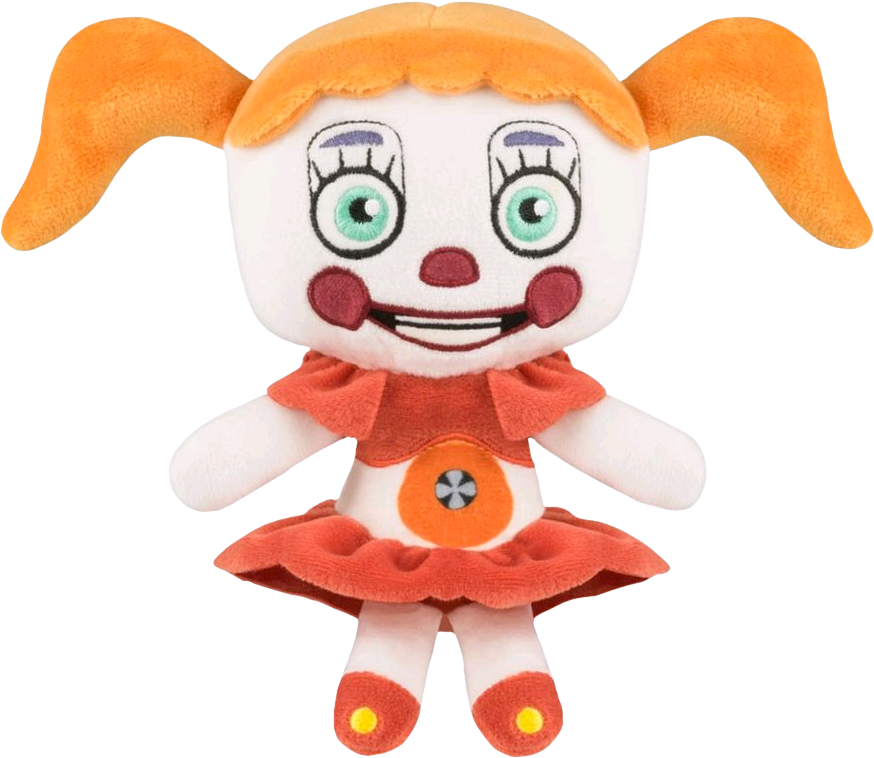 Sister location baby png. Funko circus plush by
