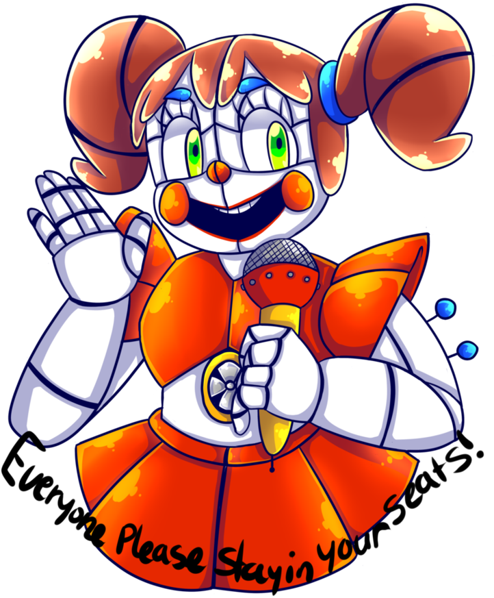 Sister location baby png. By srthegamer five nights