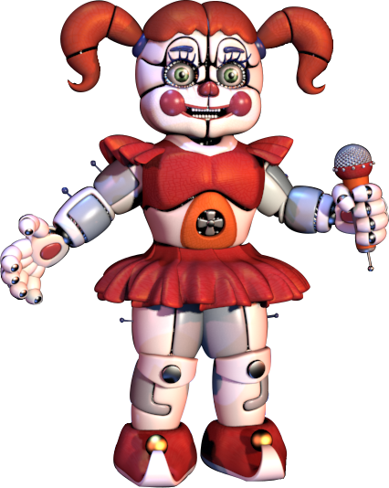 Sister location png. Circus baby from fnaf