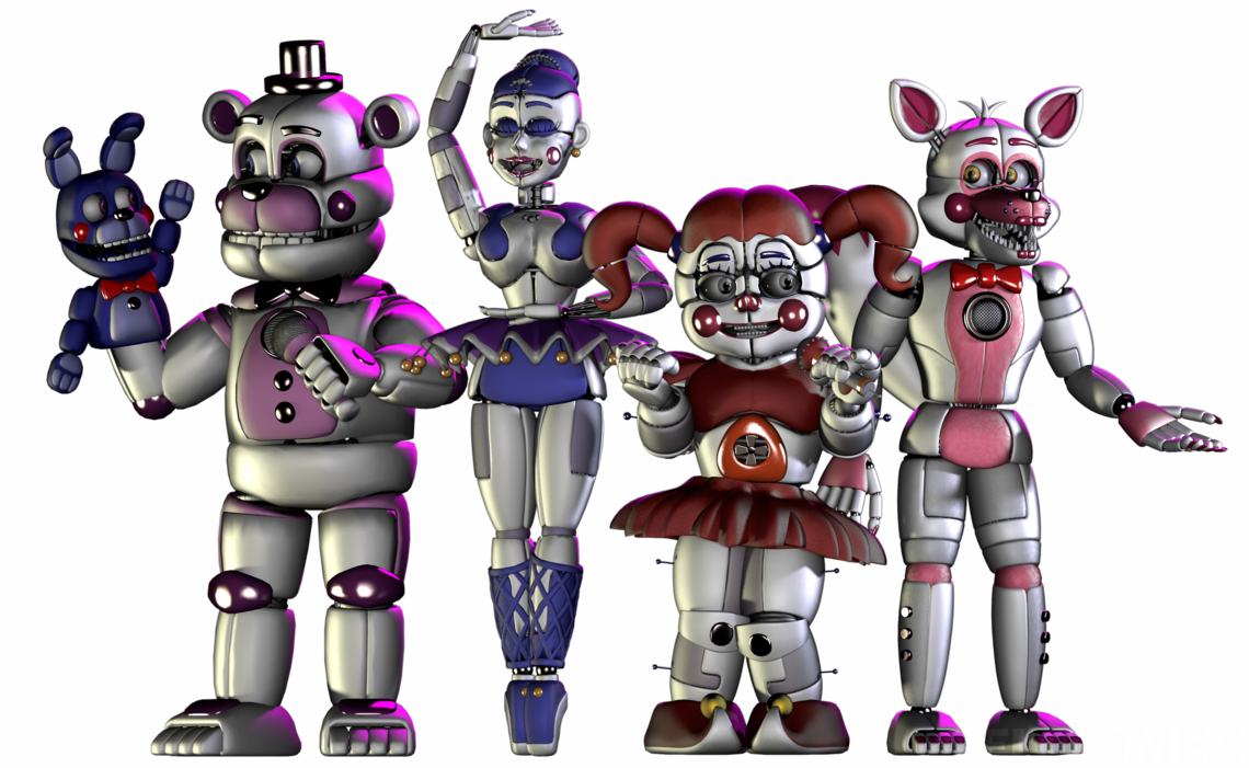 Sister location png. By floomez fnaf sisters