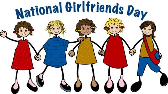 Sisters clipart girlfriends. Day greeting pictures