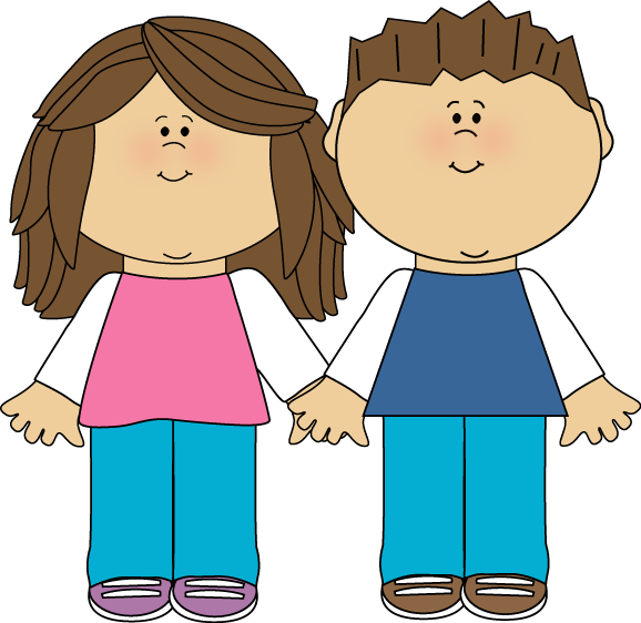 Sisters clipart sibling. Brother and sister clip