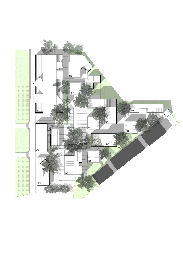 Site drawing urban. Gallery of tit creative