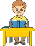 Sitting clipart desk. Search results for clip