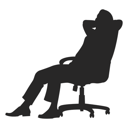 sitting vector chair