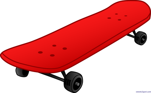 Skateboard clip. Stock archives page of