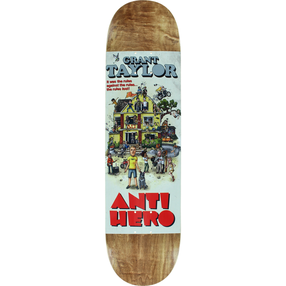 Skateboard clip palace. Stratosphere skateboards anti hero