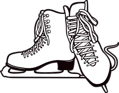 Free cliparts hockey download. Skates clipart jpg transparent stock
