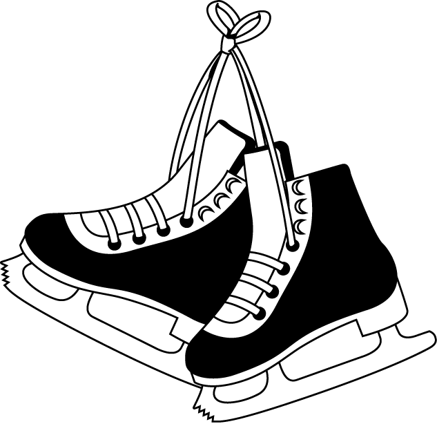 Skates clipart. Free cliparts hockey download