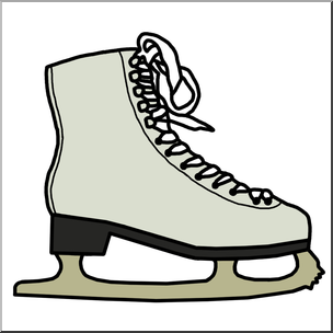 Skating clipart figure skating. Hockey skate at getdrawings