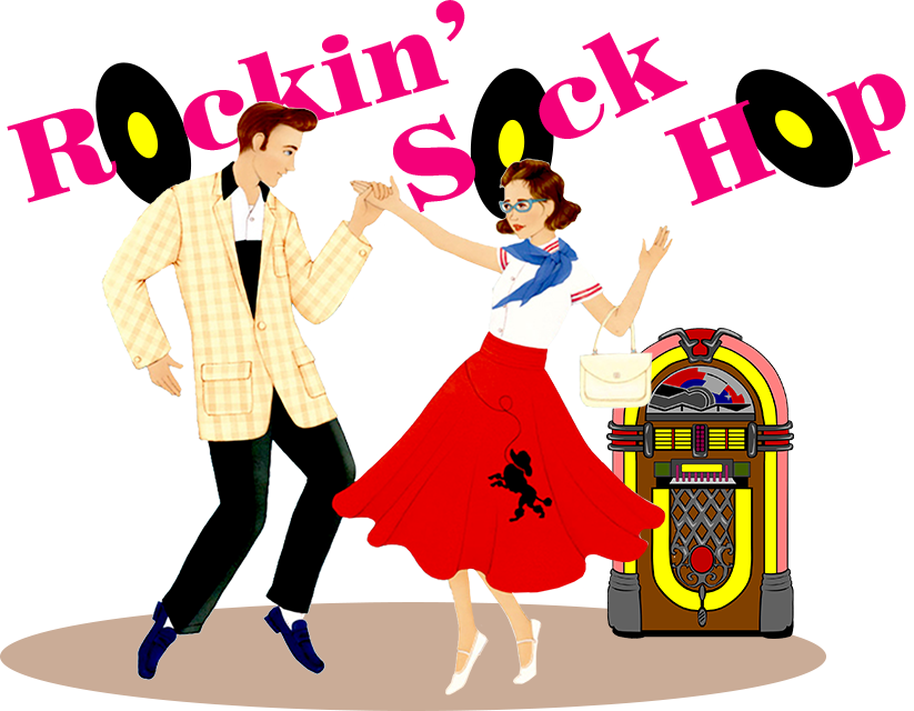 Skates clipart sock hop. Rockin discover cathedral city